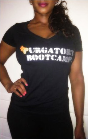 Alicea Fitness t-shirt female purgatory front darkAlicea Fitness t-shirt female purgatory front dark